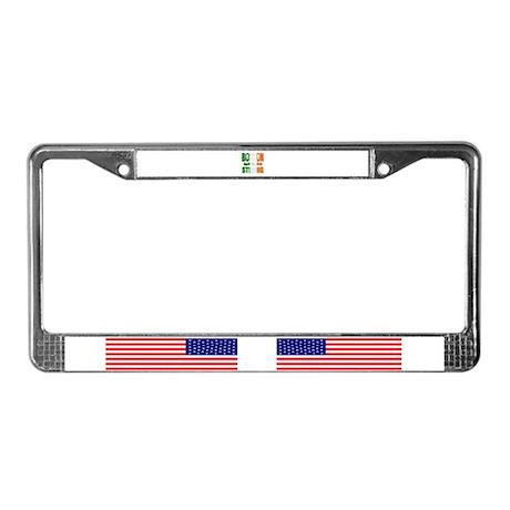Boston Irish Strong 4 15 2013 License Plate Frame