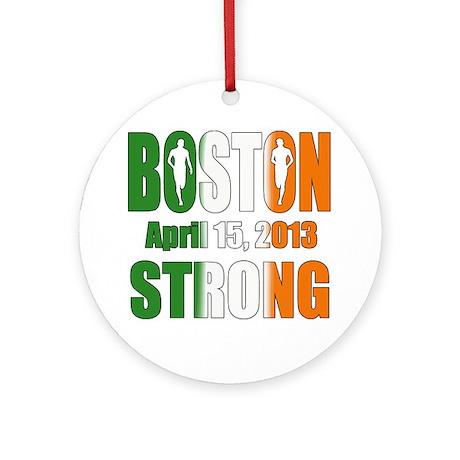 Boston Irish Strong 4 15 2013 Ornament (Round)