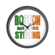Boston Irish Strong 4 15 2013 Wall Clock