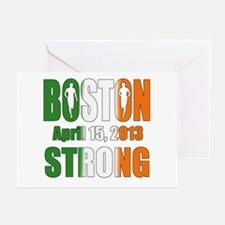 Boston Irish Strong 4 15 2013 Greeting Card