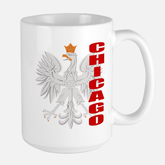 Chicago Polish Eagle Mugs