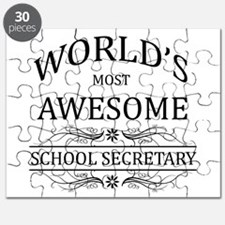 World's Most Awesome School Secretary Puzzle