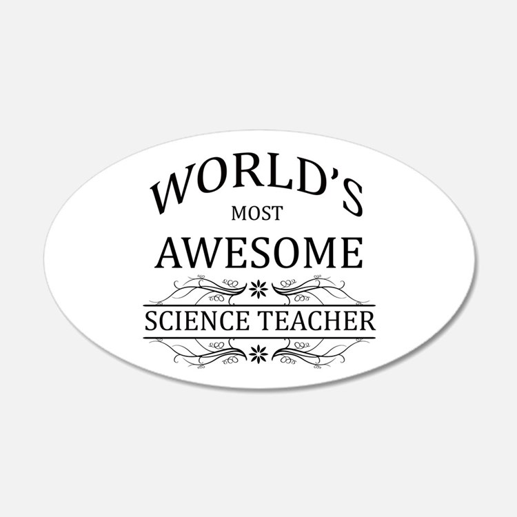 Best science teachers wall art best science teachers for Awesome science wall decals