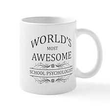 World's Most Awesome School Psychologist Mug
