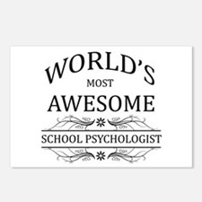 World's Most Awesome School Psychologist Postcards