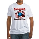 Homework Demolition Fitted T-Shirt