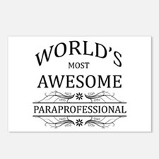 World's Most Awesome Paraprofessional Postcards (P