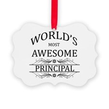 World's Most Awesome Principal Ornament