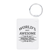World's Most Awesome Principal Keychains