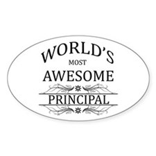 World's Most Awesome Principal Decal