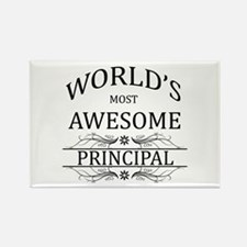 World's Most Awesome Principal Rectangle Magnet (1