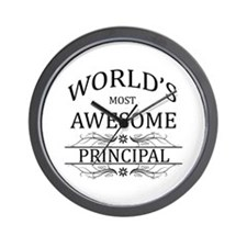 World's Most Awesome Principal Wall Clock