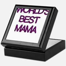 WORLDS BEST MAMA Keepsake Box