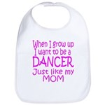 Dance Just Like Mom Bib