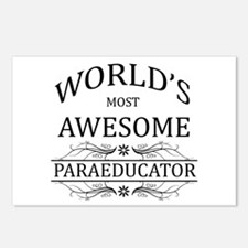 World's Most Awesome Paraeducator Postcards (Packa