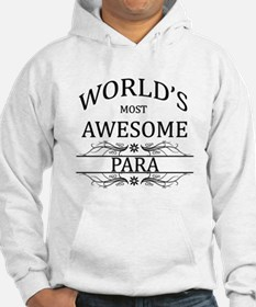 World's Most Awesome Para Hoodie