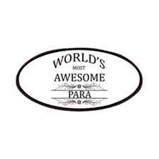 World's Most Awesome Para Patches