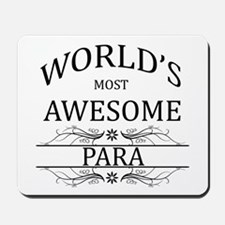World's Most Awesome Para Mousepad