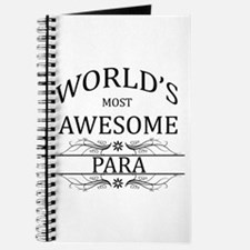 World's Most Awesome Para Journal