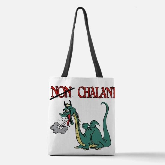 CHALANT DRAGON Polyester Tote Bag