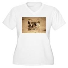 River Hippo Plus Size T-Shirt