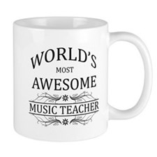 World's Most Awesome Music Teacher Mug