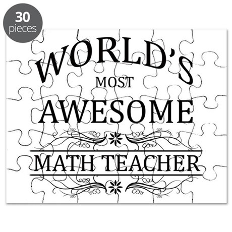 World's Most Awesome Math Teacher Puzzle
