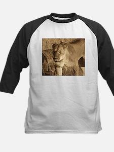 African Lioness Baseball Jersey