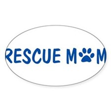 Rescue Mom Bumper Decal Decal