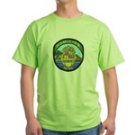 Honolulu PD Homicide Green T-Shirt