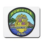 Honolulu PD Homicide Mousepad