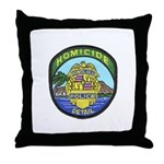 Honolulu PD Homicide Throw Pillow