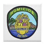 Honolulu PD Homicide Tile Coaster