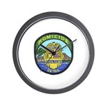 Honolulu PD Homicide Wall Clock