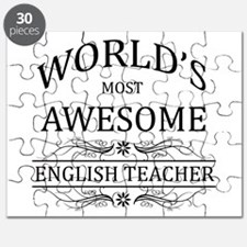 World's Most Awesome English Teacher Puzzle