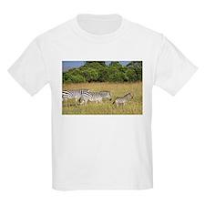 Africa Zebra Herd T-Shirt