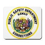 Hawaii Corrections Mousepad