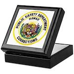 Hawaii Corrections Keepsake Box