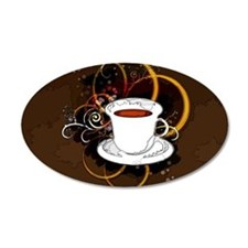 Cup of Coffee Wall Decal