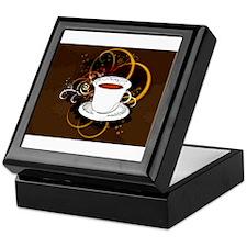 Cup of Coffee Keepsake Box