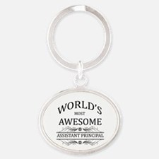 World's Most Awesome Assistant Principal Oval Keyc