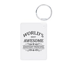 World's Most Awesome Assistant Principal Keychains