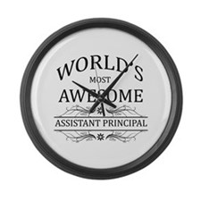 World's Most Awesome Assistant Principal Large Wal