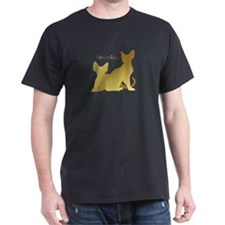 Gold Silhouettes T-Shirt
