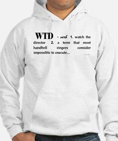 Watch the Director Jumper Hoody (white)