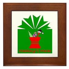 Merry Rx-mas Framed Tile