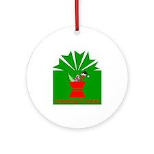 Merry Rx-mas Ornament (Round)