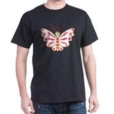 Christmas butterfly - T-Shirt