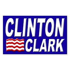 Clinton-Clark 2008 bumper sticker