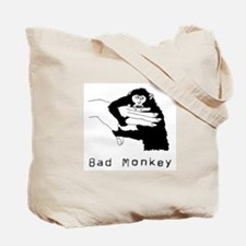 Monkey Day good/bad Tote Bag